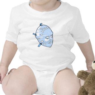 Máscara del portero traje de bebé