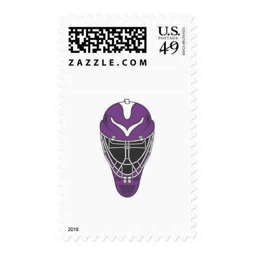 Máscara del portero sello