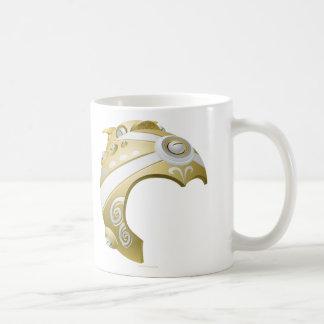Máscara del pote de la interferencia taza de café