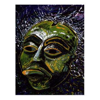 Máscara del Shaman Tarjetas Postales