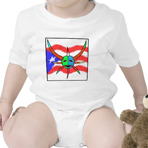 máscara del vejigante traje de bebé