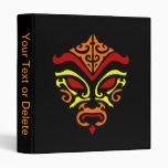 Máscara demoníaca ardiente de Kabuki del estilo tr