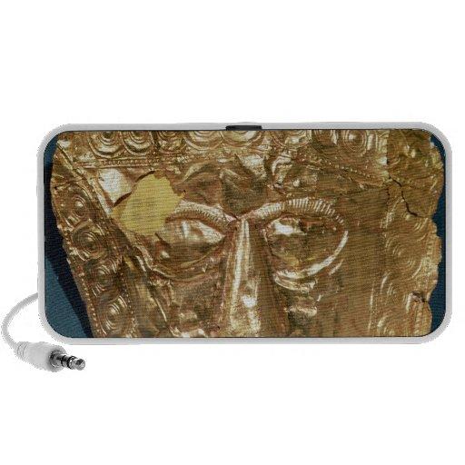 Máscara funeraria iPhone altavoz
