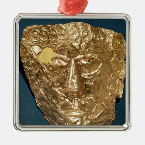 Máscara funeraria adorno para reyes