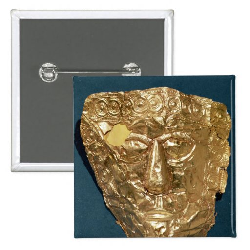 Máscara funeraria pins