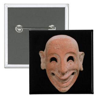 Máscara grotesca, de Motya, siglo VI A.C. (terrac Pins