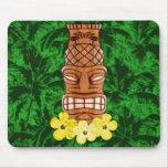 Máscara hawaiana de Tiki Alfombrilla De Ratón