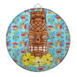 Máscara hawaiana de Tiki Tablero Dardos