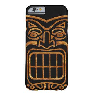 Máscara hawaiana fresca de Tiki Funda Barely There iPhone 6