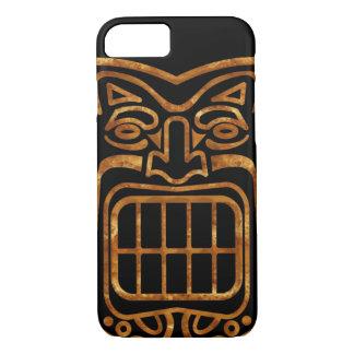 Máscara hawaiana fresca de Tiki Funda iPhone 7
