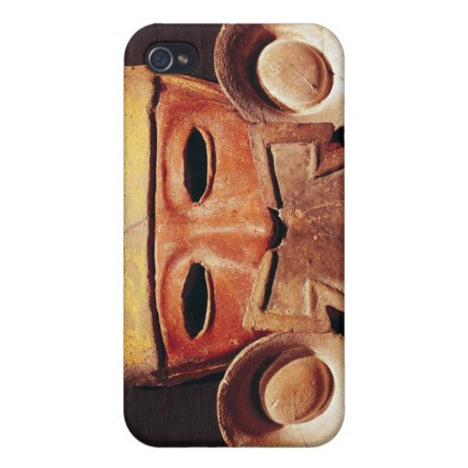 Máscara humana, de Teotihuacan iPhone 4/4S Funda