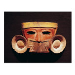 Máscara humana, de Teotihuacan Postal