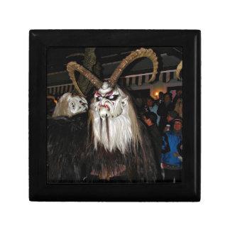 Máscara japonesa de cuernos del diablo cajas de joyas