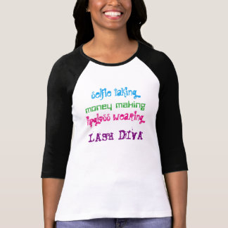 Mascara Lash Diva Version 2 Tee Shirts