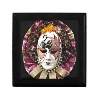 Máscara masculina hermosa del carnaval cajas de regalo