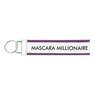 Mascara Millionaire Wrist Keychain