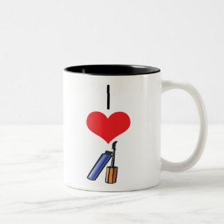 mascara coffee mugs