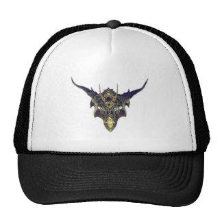 Máscara negra del dragón por Cantillon - Sharles Gorras De Camionero