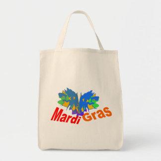Máscara partida del carnaval bolsa tela para la compra