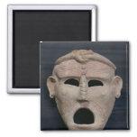 Máscara púnica del encanto, 3ro-2do siglo A.C. Imán Cuadrado