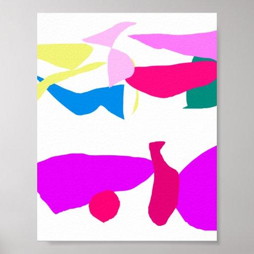 Máscara púrpura posters
