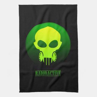 Máscara radiactiva toallas