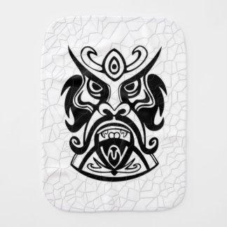 Máscara tribal viciosa B&W 006 Paños De Bebé