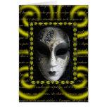 Máscara veneciana 3 tarjeta