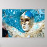 Máscara veneciana posters