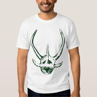 Máscara Verde Oscuro de Vejigante de Ponce, PR Tee Shirt
