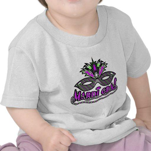 Máscara y gotas del carnaval del KRW Camiseta