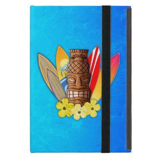Máscara y tablas hawaianas de Tiki iPad Mini Cobertura
