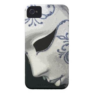 MASCARADA 2 (azul) iPhone 4 Case-Mate Carcasas
