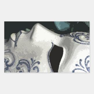 MASCARADA 2 (azul) Rectangular Altavoz