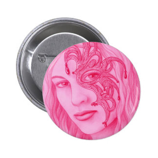 Mascarada Pinback Button