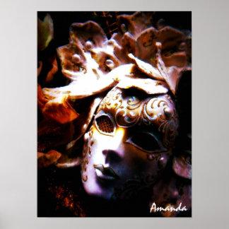 Mascarada de antaño póster