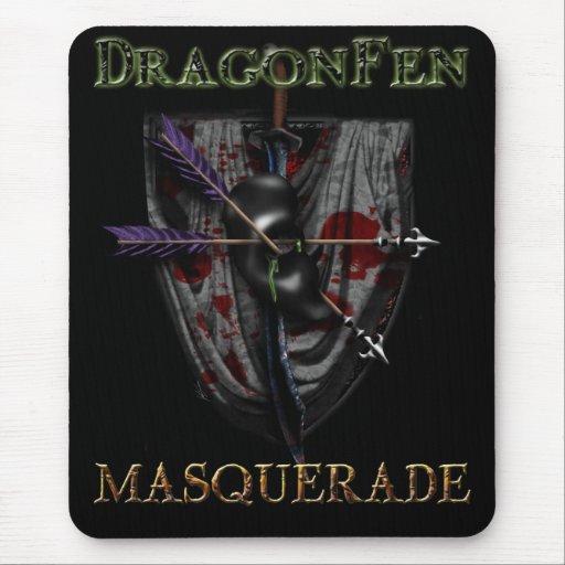 Mascarada de DragonFen Mousepad 2010 Tapetes De Ratones