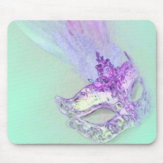 Mascarada de la aguamarina tapetes de raton