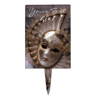 Mascarada Decoración De Tarta