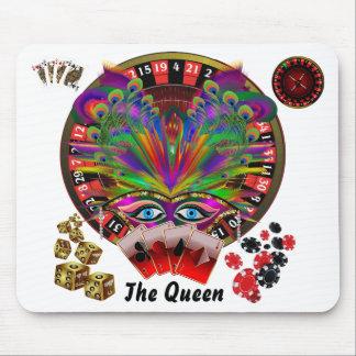Mascarada del casino del fiesta mouse pads