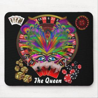 Mascarada del casino del fiesta mousepad