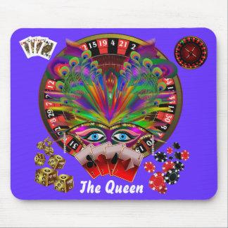 Mascarada del casino del fiesta alfombrilla de ratón