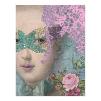 Mascarada del francés postal
