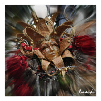 Mascarada del oro póster