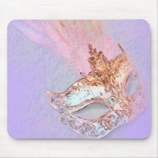 Mascarada púrpura tapete de ratón