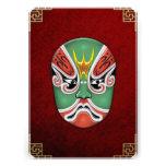 Máscaras de la Cara-pintura de la ópera de Pekín - Comunicado Personalizado