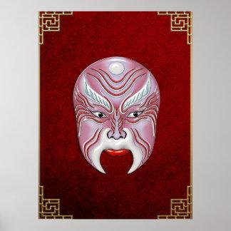 Máscaras de la Cara-pintura de la ópera de Pekín - Impresiones