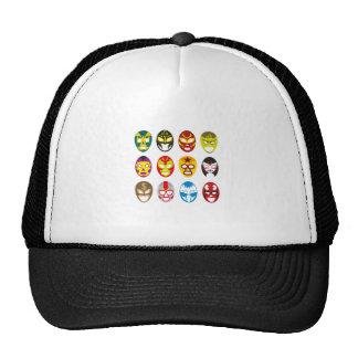 Máscaras de lucha mexicanas gorras