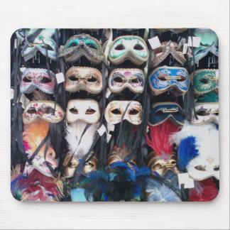 Máscaras de Venecia Mouse Pads