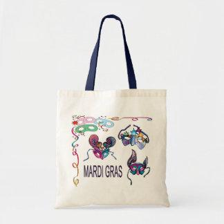 Máscaras del carnaval - bolsas de mano